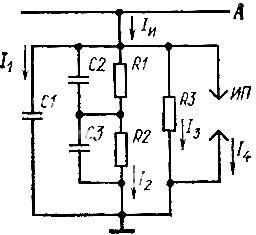Схема замещения электрической изоляции