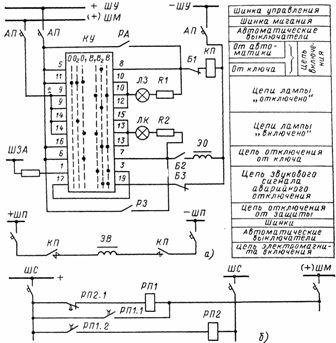 Схема управления масляным выключателем фото 851