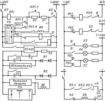 Схема управления масляным выключателем фото 224