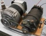 Схемы генераторов постоянного тока и их характеристики