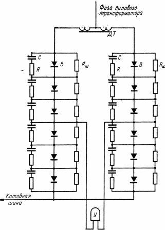 Схема выпрямительного агрегата