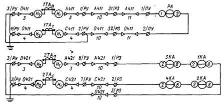 Комбинированная монтажная схема