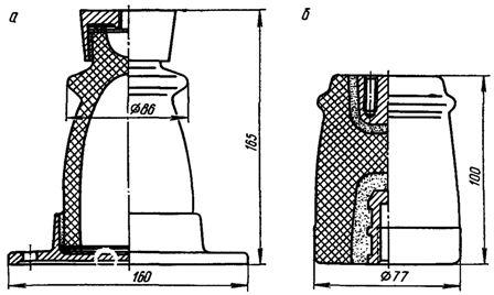 Опорные изоляторы для наружной установки на пс