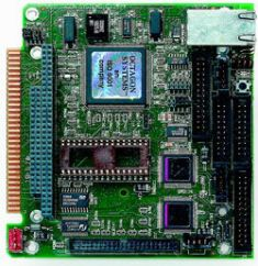 Плата центрального процессора промышленного контроллера в стандарте micro PC