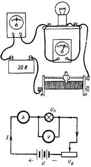 Рисунок и схема к примеру