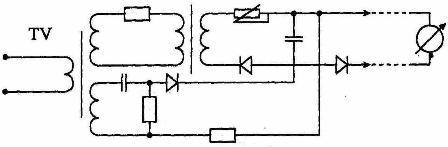 Схема выпрямительного преобразователя напряжения (ВПН-2)