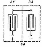 Соединение пластин свинцового аккумулятора на напряжение 4 В