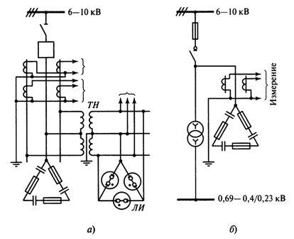 Схема включения батарей