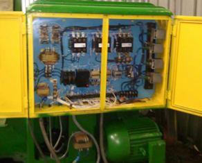 Электродвигаетель и схема управления токарного станка