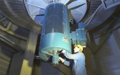 электропривод вентиляционной установки
