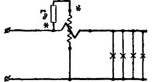Неправильная схема включения ваттметра