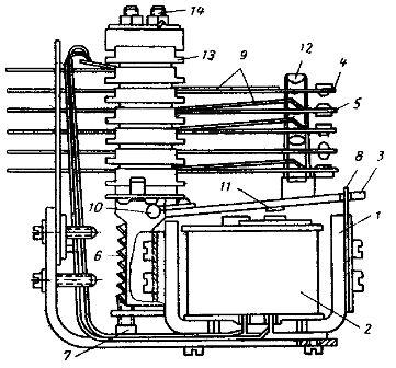 Конструкция реле МКУ-48