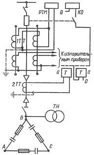 Схема защиты высоковольтных конденсаторов