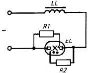 Схема подключения лампы ДРЛ
