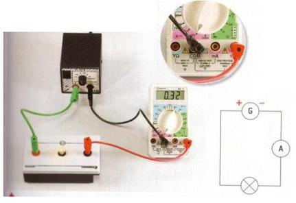 Измерение силы тока с помощью мультиметра