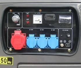 Панель подключения генератора