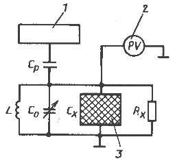 Схема емкостного влагомера