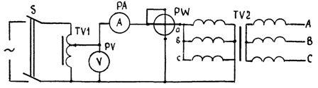 Схема сушки трансформатора токами нулевой последовательности