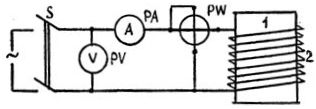 Схема сушки трансформатора потерями в баке