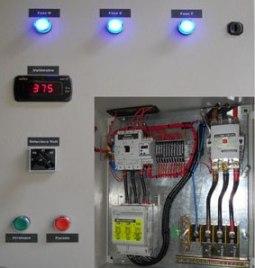 Пульт управления автоматизированной системы