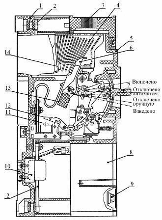 Автоматический выключатель серии А3700