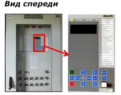 Панели РЗА, обрудованные микропроцессорными защитами