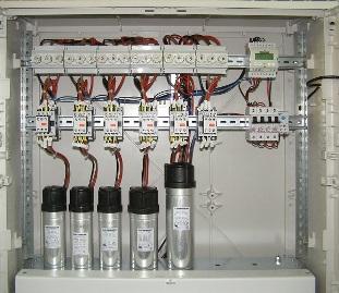Конденсаторная установка для повышения коэффициента мощности