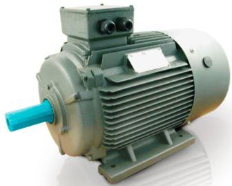 Асинхронный двигатель с короткозамкнутым ротором