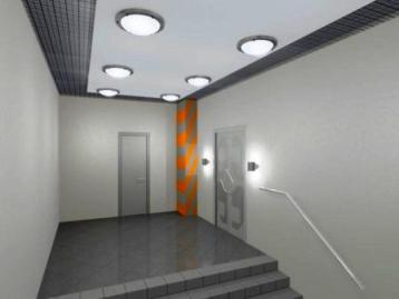 Аварийное освещении в помещении