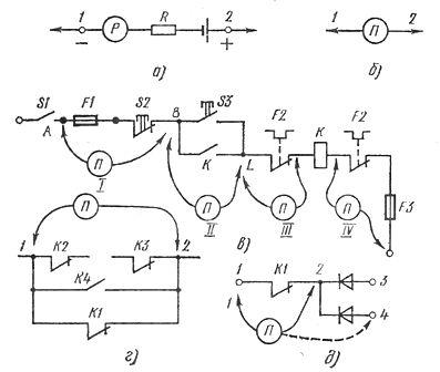 Схема с примерами проверки электрических цепей