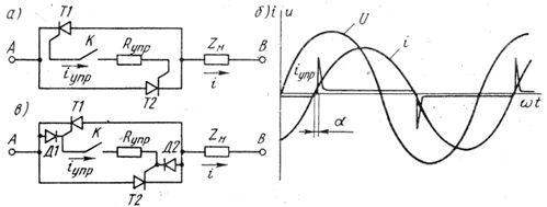 Тиристорный выключатель