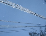 Плавка гололеда на проводах линий электропередачи напряжением 6 - 10 кВ