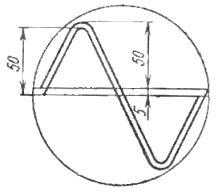 Вспомогательные кривые для определения формы кривой тока и напряжения с помощью электронно-лучевого осциллографа