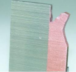 Испытание сварного соединения при помощи зубила показывает, что разрушение проходит не по сварному шву