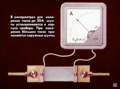 Внешний шунт для амперметра