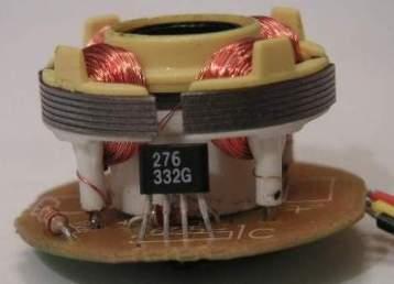 Электродвигатель с датчиком Холла