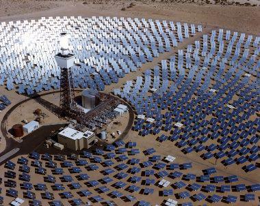 Солнченая электростанция