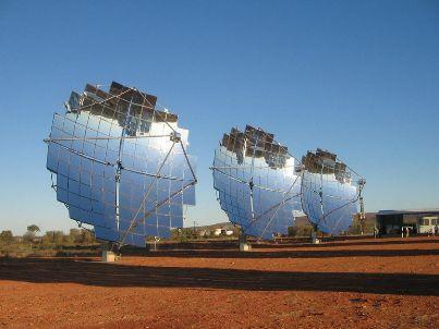 Солнечные установки тарельчатого типа