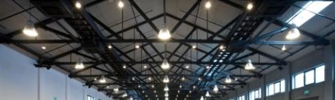 Светодиодные светильники в промыщленном цеху