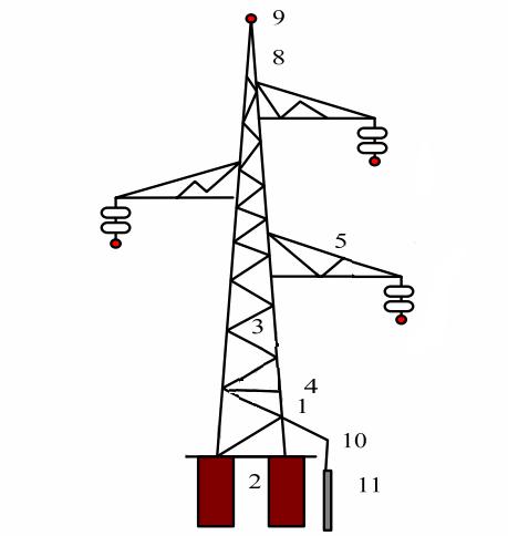 Металлическая опора ЛЭП 220-330 кВ