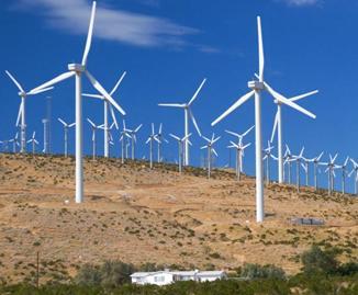 Ветроэлектрическая станция большой мощности