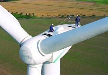 мощный ветроагрегат