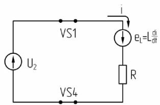 Схема замещения выпрямителя
