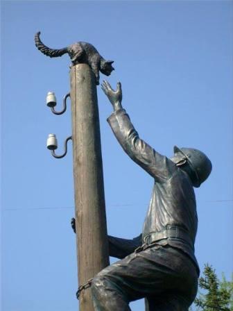 Памятник электрику в Нижнем Новгороде