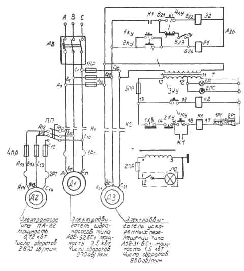 Долбежный станок модели 7М430