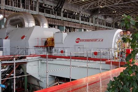 Турбогенератор на атомной электростанции