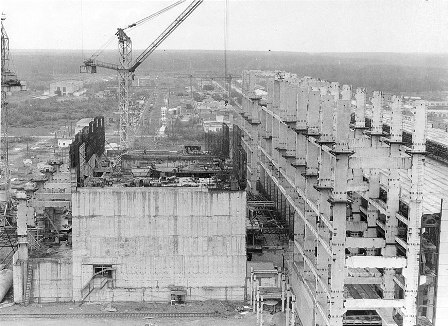 Строительство Белоярской АЭС