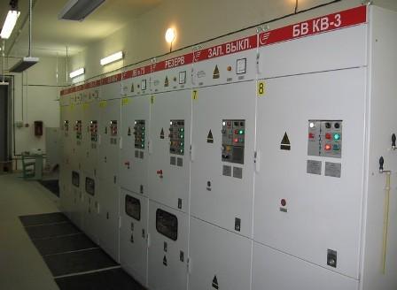 электрооборудование тяговых подстанций