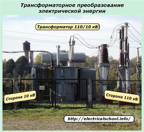 Трехфазное преобразование электрической энергии