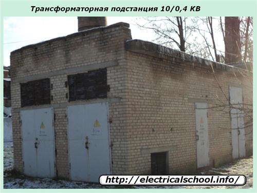 Трнасформаторная подстанция 10/0,4 кВ